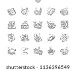 pork well crafted pixel perfect ... | Shutterstock .eps vector #1136396549