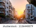tel aviv yafo  israel   june 9  ...   Shutterstock . vector #1136440079