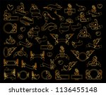 vector collection of premium... | Shutterstock .eps vector #1136455148