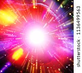Small photo of Outburst in galaxy. The elements of this image furnished by NASA.