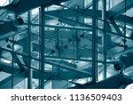 toned double exposure photo of... | Shutterstock . vector #1136509403