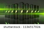future battery technology to... | Shutterstock . vector #1136517026