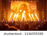 mt. pleasant  mi   usa   july... | Shutterstock . vector #1136555330