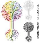 vector tree | Shutterstock .eps vector #113656216