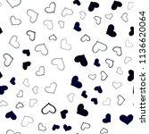 dark multicolor vector seamless ... | Shutterstock .eps vector #1136620064