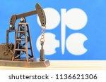 petroleum  petrodollar and... | Shutterstock . vector #1136621306