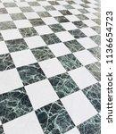 marble squared floor background.... | Shutterstock . vector #1136654723