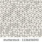 abstract seamless lattice... | Shutterstock .eps vector #1136656043