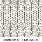 abstract seamless lattice... | Shutterstock .eps vector #1136656049