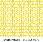 abstract seamless lattice... | Shutterstock .eps vector #1136656073