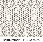 abstract seamless lattice... | Shutterstock .eps vector #1136656076