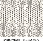 abstract seamless lattice... | Shutterstock .eps vector #1136656079