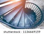 Spiral Steel Staircase Circula...