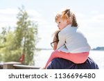 samara  russia   june 21  2018  ... | Shutterstock . vector #1136696480