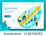 vector concept illustration  ... | Shutterstock .eps vector #1136702033