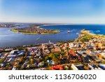 delta of hunter river at...   Shutterstock . vector #1136706020