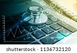 medical marketing and... | Shutterstock . vector #1136732120