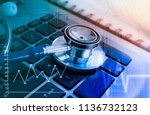 medical marketing and... | Shutterstock . vector #1136732123