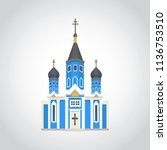 vector illustration lithuania... | Shutterstock .eps vector #1136753510
