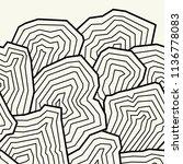 vector seamless pattern. ... | Shutterstock .eps vector #1136778083