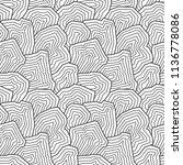 vector seamless pattern. ... | Shutterstock .eps vector #1136778086