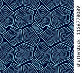 vector seamless pattern. ... | Shutterstock .eps vector #1136778089