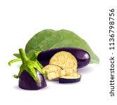 fresh  nutritious  tasty... | Shutterstock .eps vector #1136798756