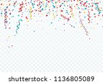 celebration or festival... | Shutterstock .eps vector #1136805089