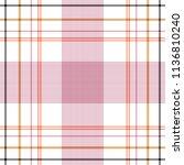 tartan traditional checkered... | Shutterstock .eps vector #1136810240