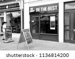salisbury  wiltshire  england   ... | Shutterstock . vector #1136814200