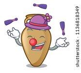Juggling Amphora Mascot Cartoon ...