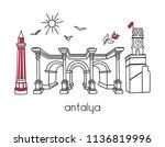 modern vector illustration...   Shutterstock .eps vector #1136819996