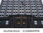new york  usa   may 29  2018 ...   Shutterstock . vector #1136860496