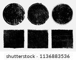 vector grunge stamps.grunge... | Shutterstock .eps vector #1136883536