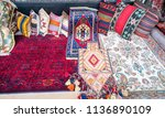 beautiful and colored turkish... | Shutterstock . vector #1136890109