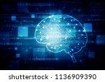 2d illustration concept of... | Shutterstock . vector #1136909390
