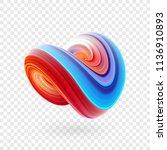 vector illustration  3d... | Shutterstock .eps vector #1136910893