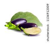 fresh  nutritious  tasty... | Shutterstock .eps vector #1136912009