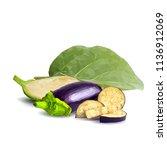 fresh  nutritious  tasty... | Shutterstock .eps vector #1136912069