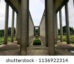 htak kyant war cemetery  yangon ... | Shutterstock . vector #1136922314