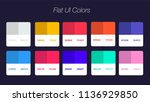 set of colorful trendy flat... | Shutterstock .eps vector #1136929850