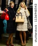 luxury and fashion concept....   Shutterstock . vector #1136948543