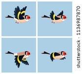 vector illustration of cartoon ...   Shutterstock .eps vector #1136987870