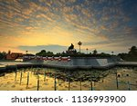 prachuap khiri khan thailand... | Shutterstock . vector #1136993900