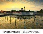 prachuap khiri khan thailand... | Shutterstock . vector #1136993903