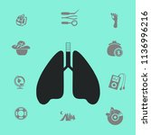 lungs vector illustration | Shutterstock .eps vector #1136996216