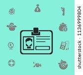 badge vector icon | Shutterstock .eps vector #1136999804