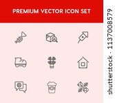 modern  simple vector icon set... | Shutterstock .eps vector #1137008579