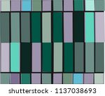 colorful square frame and... | Shutterstock .eps vector #1137038693