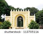 Main entrance of Tipu Sultan Summer Palace, Daria Daulat